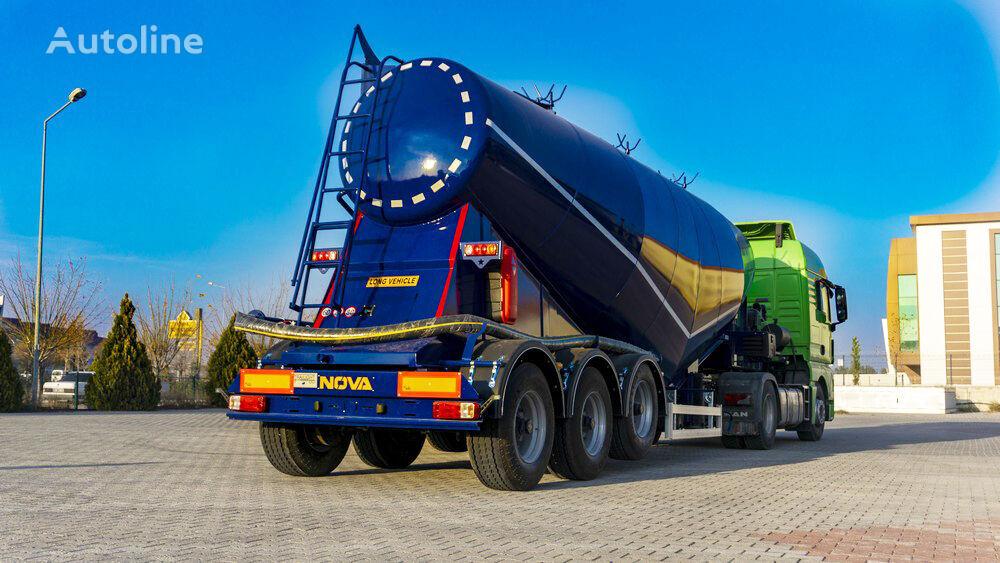 new Nova 22 to 50 cbm V Type Cement Tanker Trailer cement tank trailer