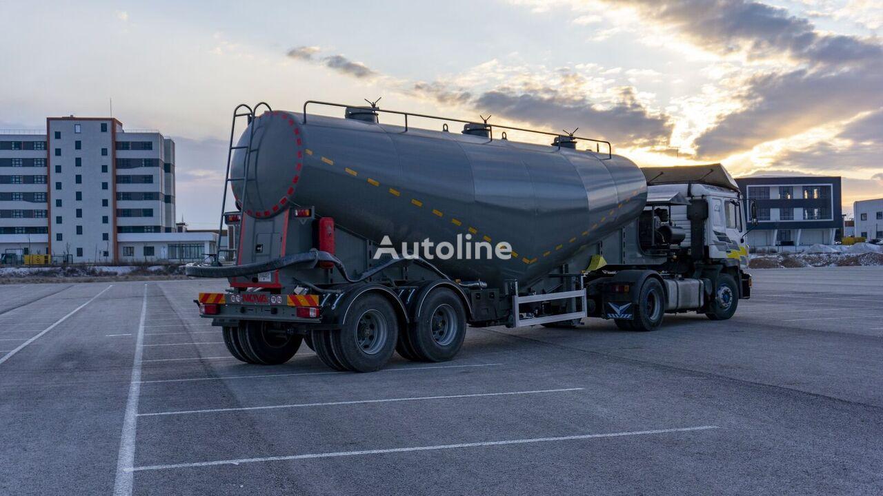 new Nova 22 to 60 cbm V Type Cement Tanker Trailer cement tank trailer
