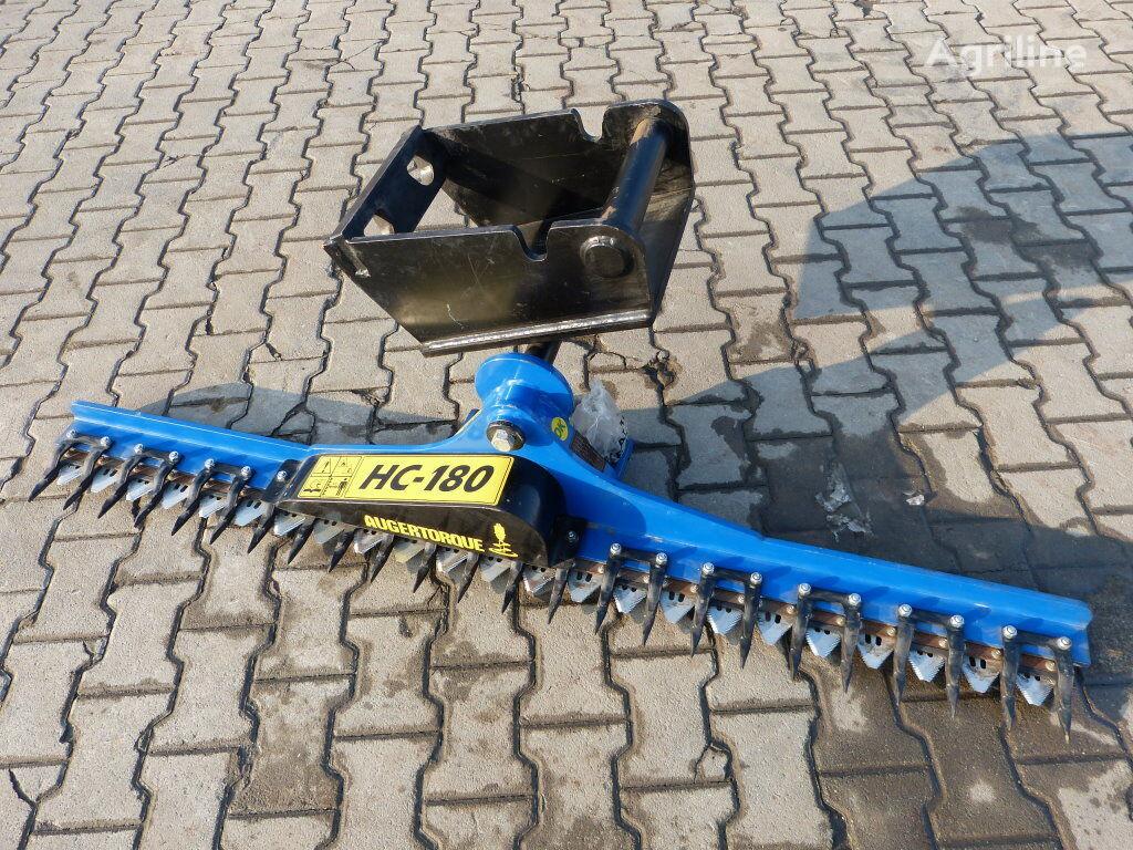 Hydr. Heckenschere HC180 für Minibagger MS08 subsoiler