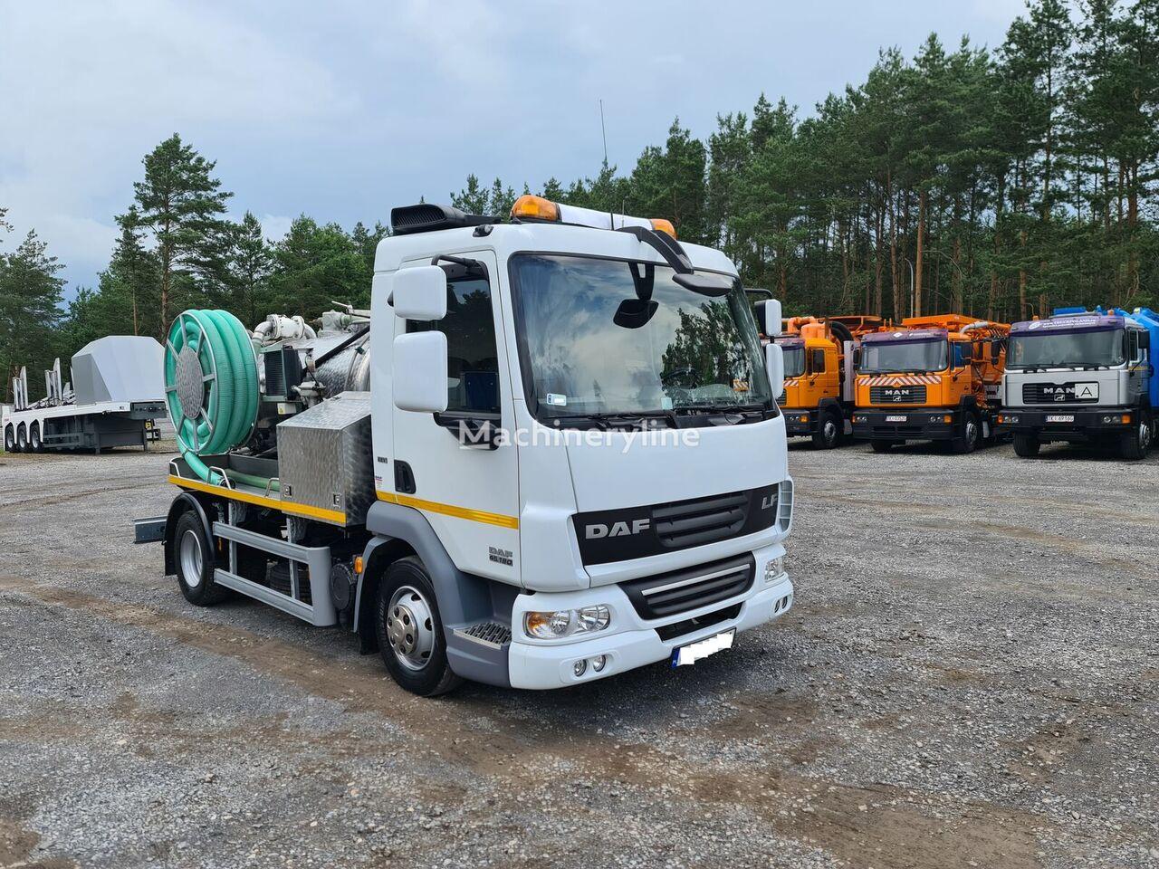 DAF LF45 WUKO SCK  DO CZYSZCZENIA KANAŁÓW PRZEBIEG 18000 km !! vacuum truck