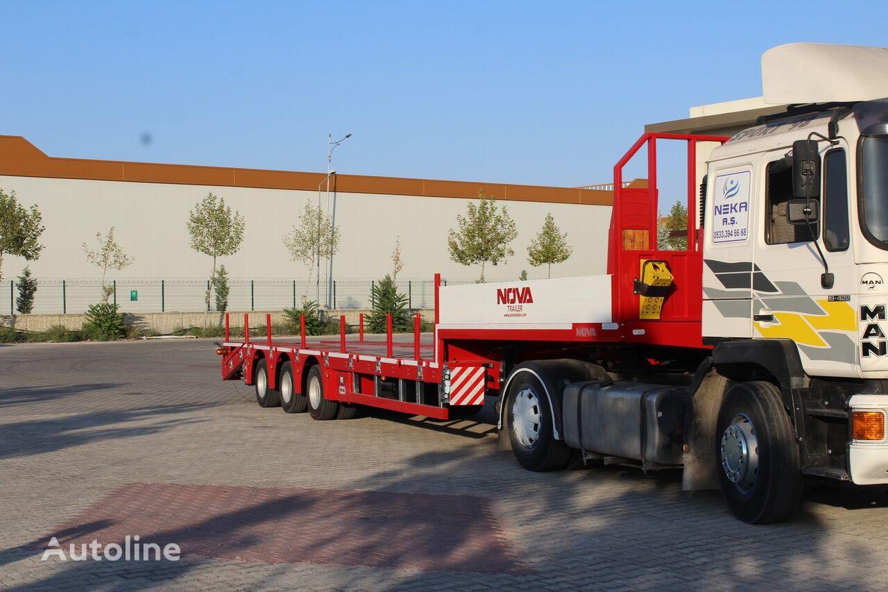 new NOVA PLATFORM LOWBED TRAILER MANUFACTURING COMPANY     low bed semi-trailer