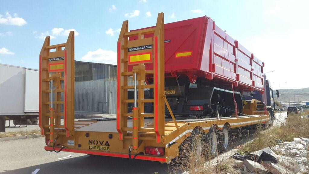 new NOVA 2 to 4 axle Lowbed Trailers low bed semi-trailer