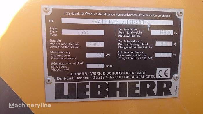 axle for LIEBHERR L 544 wheel loader