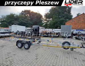 new LIDER LT-117 przyczepa 750x190cm, do przewozu łodzi, wzmacniana, DMC 2 boat trailer
