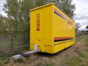 OMAR Biga furgonata con porte+sponda idraulica Anteo closed box trailer