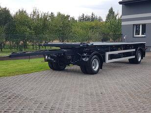 ZASŁAW D-659 DO KONTENERÓW HAKOWCA POD KONTENERY 2 OSIE BLIŹNIAKI RESOR container chassis trailer