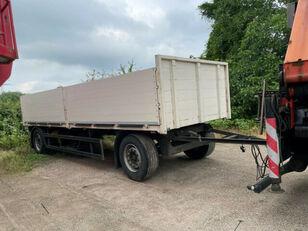 ACKERMANN Baustoff, PA-F18/72E flatbed trailer