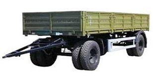 new KAMAZ СЗАП-8355 flatbed trailer