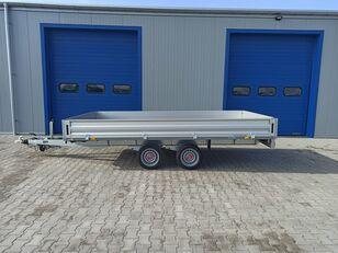 new STEMA SHP O2 35-40-20.2 hamowana flatbed trailer
