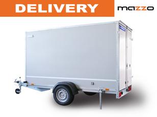 new F752413D 2.48x1.35x1.5m gvw 750kg! Box trailer  light trailer