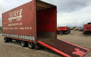 Dinkel plane / hydr. rampen tilt trailer