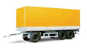 new MAZ 870100-3010 tilt trailer