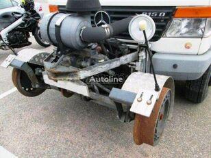 MERCEDES-BENZ VARIO 4x4 DOKA Műhelykocsi csörlővel box truck