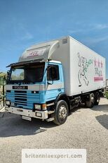 SCANIA P82 H left hand drive manual 6X2 24 ton  box truck
