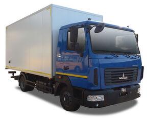 new MAZ box truck