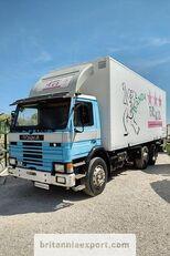 SCANIA P82 H left hand drive 6X2 24 ton detachable box  box truck