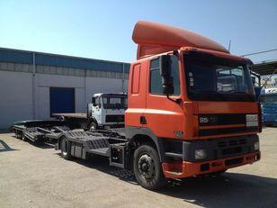 DAF CF85.380 ATI EURO2 TRUCK / TRACTOR TRANSPORT + TANDEM car transporter + car transporter trailer
