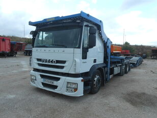 IVECO Stralis AS190S45 car transporter