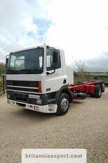 DAF CF85 380 left hand drive manual pump 6X2 26 ton 637422 Km! chassis truck