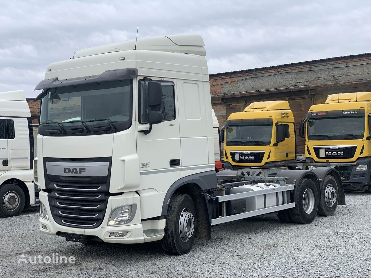 DAF XF 106.410 v Lizing chassis truck