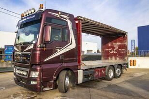 MAN TGX 26.480 XXL 6X2-4 ( gestuurd/Dir./steering/gelenkt) curtainsider truck