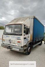 RENAULT Midliner M140.13 left hand drive 6 cylinder 13 ton full springs curtainsider truck