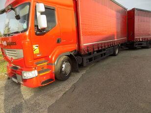RENAULT PREMIUM 460 DXI EEV curtainsider truck + curtain side trailer