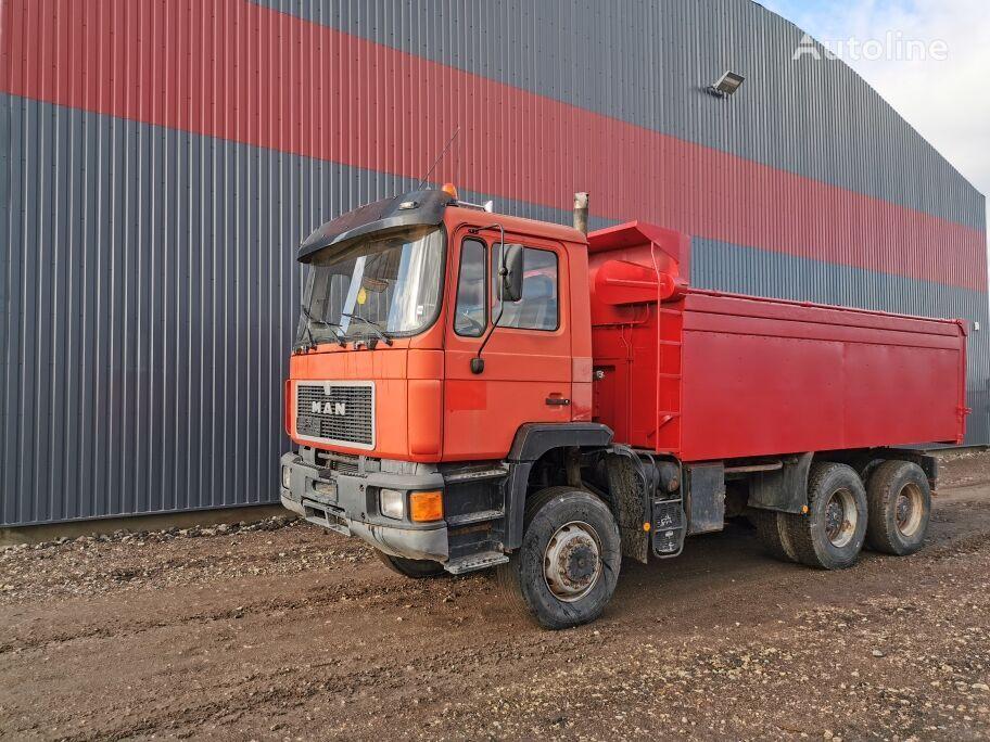 MAN 27.332 FULL SPRING 6x6 dump truck