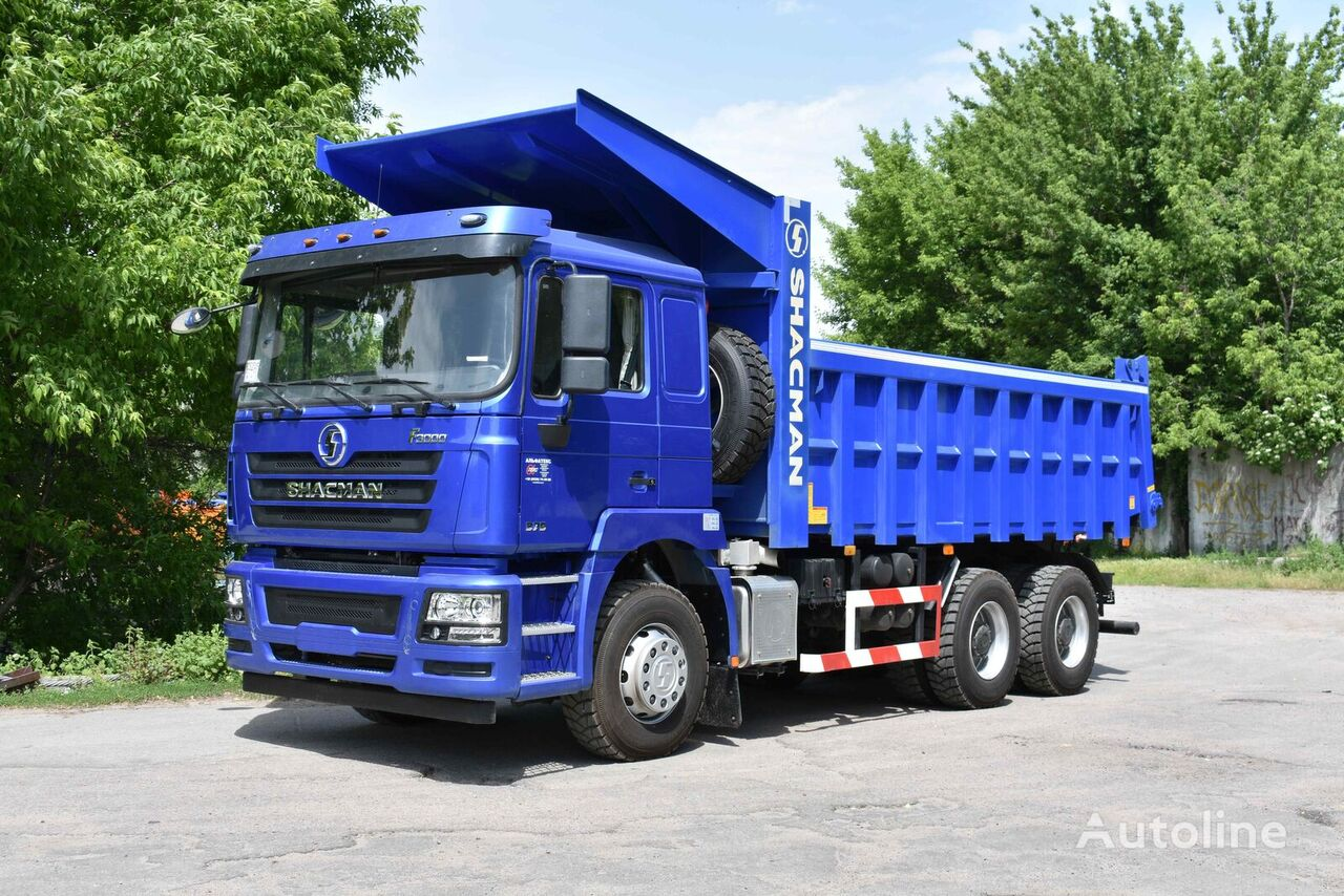 new SHACMAN SHAANXI F3000 6h4 (usilennyy karernyy variant) dump truck