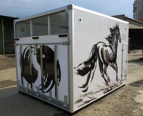 new ИСТОК horse truck