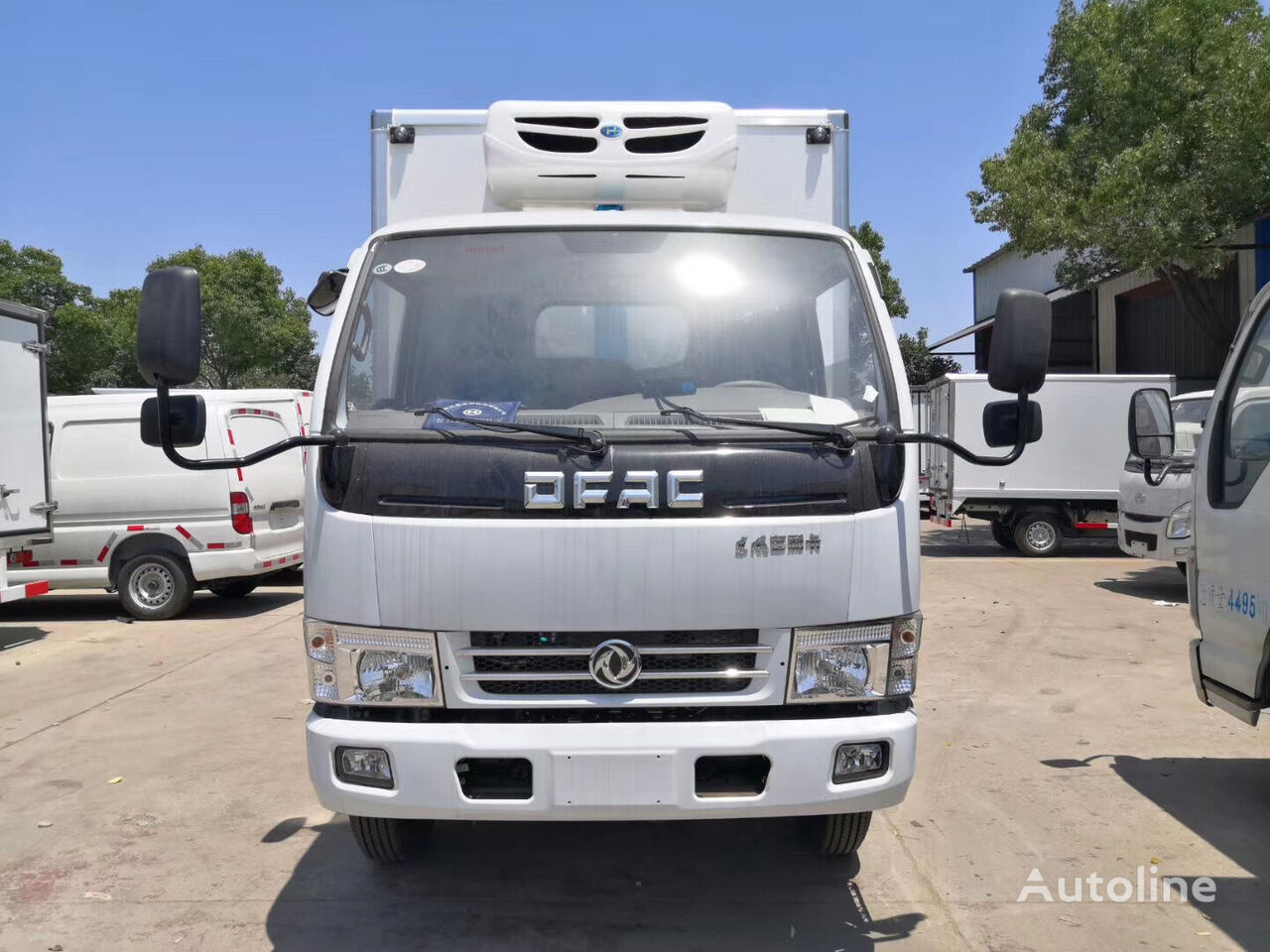 new DONGFENG CLW5040XLC5 refrigerated truck