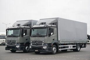 MERCEDES-BENZ ANTOS / 1833 / ACC / E 6 / SKRZYNIA + WINDA / ŁAD. 8730 KG / 18  tilt truck